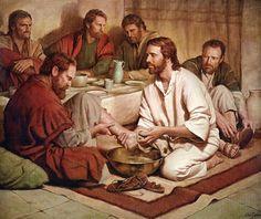 Salmos - Proverbios e passagens da Bíblia: Evangelho comentou, «Senhor, Tu vais lavar-me os p...