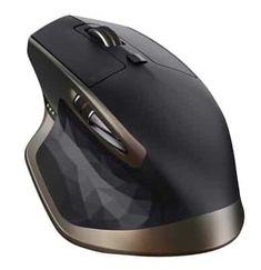Logitech MX Master Wireless Mouse, Bluetooth or GHz with USB Unifying Mini-Receiver, 1000 DPI Any Surface Laser Tracking, PC / Mac / Laptop - Meteorite Black Bronze Top Computer, Computer Mouse, Computer Setup, Gaming Setup, Gaming Computer, Bluetooth, Mobile Mouse, Best Mouse, Model