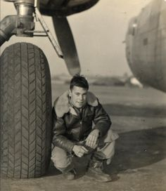 T/Sgt A.J. Parades, Radio Operator. 458th Bombardment Group.