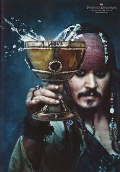 Johnny Depp as Jack Sparrow, Pirates of the Caribbean