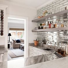 Warm up your decor with the elegance of the Mirror Subway wall tile. This deluxe subway tile will quickly and easily elevate kitchens, bathrooms and living rooms with its smoky richness. Mirror Tiles, Wall Tiles, Subway Tile, Living Rooms, Basement, Kitchen Design, Bathrooms, Kitchens, Interior Decorating