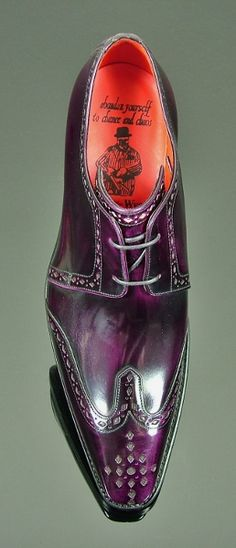 Moon - Classic Wing Gibson Aubergine Polish