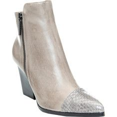 Donald J Pliner Volt-W543 - Soft Grey/Soft Grey Watersnake with FREE Shipping & Returns. Stay chic this season with the VOLT, angular lines and mixed textures give
