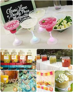 DIY Margarita Bar: So yummy and beautiful :)
