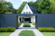 Moderne villatuin Raalte. #tuinontwerp #modern #groen #StudioTuin&Zo