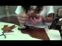 How to Make A Breyer Horse Western Saddle!