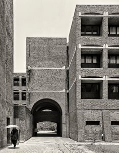 Louis I. Kahn | Indian Institute of Management | Ahmedabad, Guajarat, India (1962-1974)