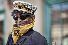 Uncle Lionel of the Treme Brass Band