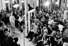 More than 1,000 people viewed Coco's last collection on 26 January 1971. She died on 10 January, the day after she had put the finishing touches to her spring/summer collection