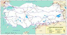 Türkiye Sınır Kapıları Haritası