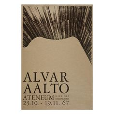 Poster for the exhibition celebrating Alvar Aalto's career as an architect. The picture shows a detail of the ceiling of the Aalto-designed Vyborg Library Chinese Architecture, Modern Architecture House, Futuristic Architecture, Modern Houses, Wooden Ceilings, Zaha Hadid Architects, Poster Series, Alvar Aalto, Exhibition Poster