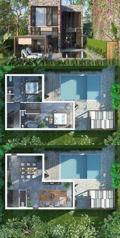 Hoi An Resort & Residence - Información sobre Hoi An Resort & Residence . - Hoi An Resort & Residence – Información sobre Hoi An Resort & Residence … Imágenes efect - Sims 4 House Plans, House Layout Plans, Modern House Plans, House Layouts, Dream House Plans, Sims 4 House Design, Small House Design, Modern House Design, Flat Design