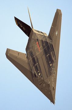 F-117 stealth. What would Wilbur have said about this?