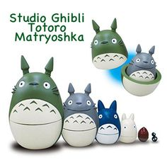 Studio Ghibli My Neighbor Totoro Matryoshka – Hamee