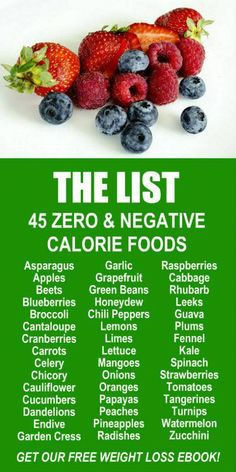 45 Zero Negative Calorie Foods Learn about the weight loss and fat burning benefits of Zijas potent Moringa based product line Try our 90 day transformation Get our FREE. Negative Calorie Foods, Zero Calorie Foods, Get Healthy, Healthy Snacks, Healthy Eating, Lifesum App, Blueberry Rhubarb, Diet Recipes, Healthy Recipes