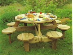 Use these free picnic table plans to build a picnic table for your backyard, deck, or any other area around your home where you need seating. Building a picnic . Backyard Projects, Outdoor Projects, Home Projects, Pallet Furniture, Garden Furniture, Outdoor Furniture, Outdoor Decor, Woodworking Plans, Woodworking Projects