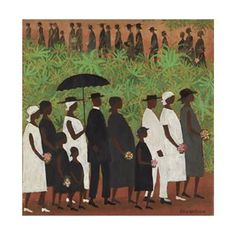 Funeral Procession by Eliis Wilson