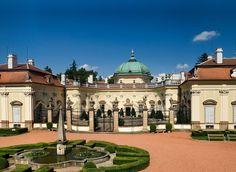 Buchlovice castle, Czech rep.