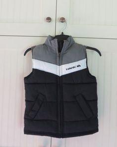 3ad2fa5eec0c62 NWOT-Tony-HAWK-Boys-Gray-Sleeveless-Vest-Jacket-Fall-Winter-Sz-M-5-6