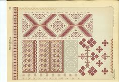 Folk Embroidery, Embroidery Patterns, Brick Stitch, Christmas Cross, Blackwork, Cross Stitch, Traditional, Quilts, Crafts