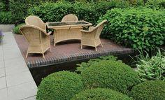 Afbeeldingsresultaat voor terras stoeptegel baksteen