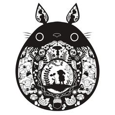 Coolest totoro design/tattoo I've seen