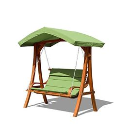 Add a classic touch to your backyard with the Better Homes & Gardens Sullivan Pointe Gazebo Porch Swing Bed It holds three people comfortably and lies flat Buy Better Homes & Gardens Sullivan Pointe Gazebo Porch Swing Bed, Seats 3 at Walmartcom Porch Swing With Canopy, Outdoor Patio Swing, Backyard Hammock, Canopy Outdoor, Backyard Patio, Single Patio Door, Backyard Sitting Areas, Wooden Swings, Patio Seating