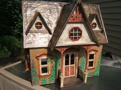 Doll House Cottage Complete Ready For Furniture, Plants, Pets..and The New…