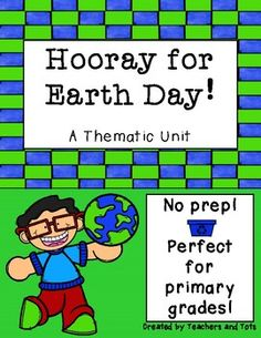 This Earth Day thematic mini-unit is prefect for primary grades and involves NO PREP!  Activities cover ELA, Writing and Math skills and I have also included 3 mini posters to use as teaching resources!Please remember to leave FEEDBACK to earn TPT credits for YOU and check out my store at www.teacherspayteachers.com/store/teachers-and-tots for other products you might like!