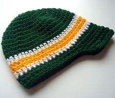 Baby Boy Hat, Boys Crochet Hat, Boys Visor Hat, Boys Crochet Cap, MADE TO ORDER. $22.00, via Etsy.