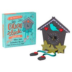 The Makery Make Your Own Cuckoo Clock Kit, Multi-Colour T... https://www.amazon.co.uk/dp/B01M5F9XPF/ref=cm_sw_r_pi_dp_x_gT2yybGSK1V29