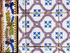 Azulejos antigos no Rio de Janeiro: Central do Brasil VI - rua Senador Pompeu