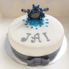Pokemon Blastoise Cake