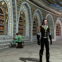 Scholar of Elrond's library by Gloredh