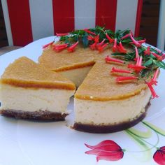 The House Gourmet — Peach Cheesecake/ Şeftalili Cheesecake /...