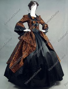 Marie Antoinette Victorian Period Dress Wedding Ball Gown Theatrical Clothing