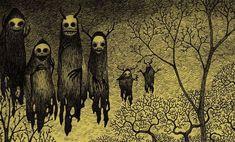 Post-It Monstre By John Kenn Mortensen. | The Unravelling Of Alan ...