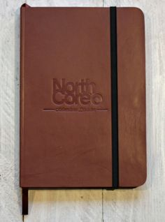 Northcore Adventure Division- genuine leather notebook in brown. A cool collectable book, A5 with plain paper, perfect for scribbling down notes, sketches or as a travel journal. www.northcore-global.com