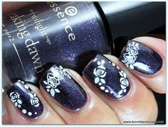 Essence Alice Had A Vision - Again & Nail Art stickers
