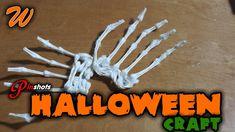 Q-Tip Skeleton Hand Craft - Pinshots