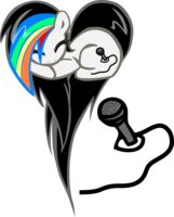 Siren Fan OC Heart Pony Request by pyrestriker