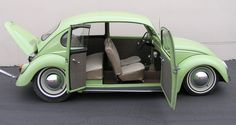 1965 VW Beetle with suicide doors