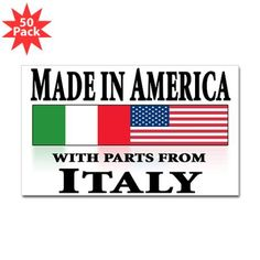 Italian pride Decal  #cafepressfathersday