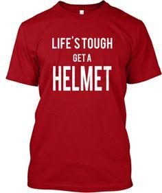 Life's tough, get a helmet - Boy Meets World tee quotes of Eric Matthews