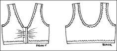 free bra patterns pics | designed for 2 way stretch fabric