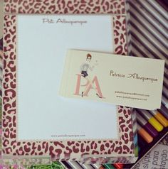 Notepad + Calling Card