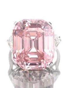 $60,000,000 is the expected price for The Pink Star - a Massive Internally Flawless Vivid Pink Diamond Heading to Sothebys Auction