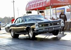 Hubby's 66 GTO Pro Street