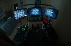 awesome battlestations cool 16 Every man deserves an epic battlestation (26 Photos)
