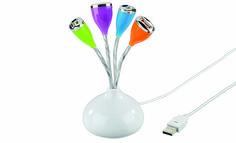 ¡¡SORTEO!! Pon color a tu escritorio con este Hub USB de Hama